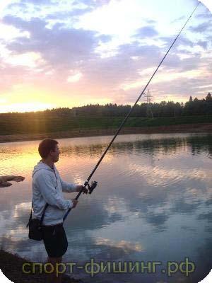 рыбалка во  начале 2000