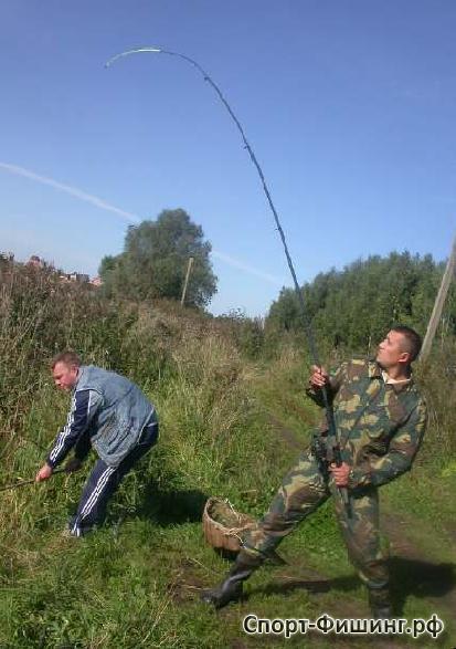 ловить на зарыбленном пруду